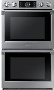 samsung nv51k7770ds 28 inch double wall oven from samsung