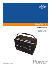 Battery Mhos Chart Alphacell Hp English User Guide Manualzz Com