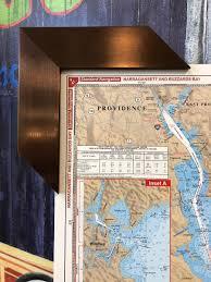 Noaa Chart 11425 Framed Nautical Chart