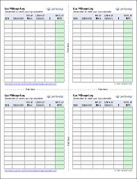 driving log template gas mileage log and mileage calculator for excel