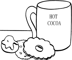 Small Picture Hot Cocoa With Cookie Coloring Page Its A Party Birthdays