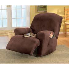 sure fit recliner covers slipcover for oversized chair and ottoman wingback chair slipcovers