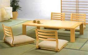 japanese office furniture. Japanese Wood Portable Floor Chair And Desk Office Furniture .