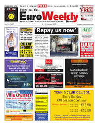 Costa del Sol 8 14 November 2012 Issue 1427 by Euro Weekly News.