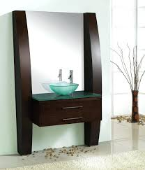 oval bathroom vanity stylish modern with wooden framed added two ornate  unique bath vanities