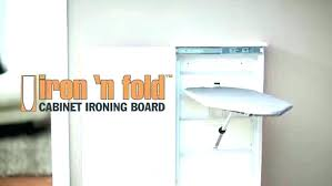 iron board cabinet wall mount ironing built in folding ikea mounted iro wall mounted ironing board