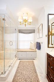 transitional bathroom ideas. Small Master Bathroom Ideas For A Transitional With Rainfall Tile And Charlestown Condo By Lee Kimball