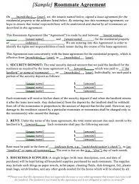 Sample Room Rental Agreement Ontario