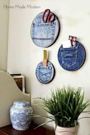 diy home decor with old clothes 6