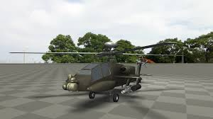 Apache Helicopter Jahshaka