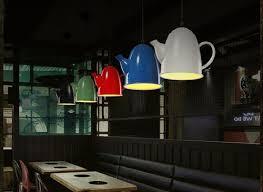 creative home lighting. teapot novelty edison loft industrial vintage pendant lights creative hanging lamp for bar home lighting suspension