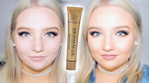 Dermacol Extreme Coverage Foundation Shade 208 To 221 Matching My Tan Tobie Jean