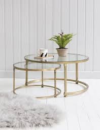 small stackable coffee tables and coco nesting round glass coffee tables house decor