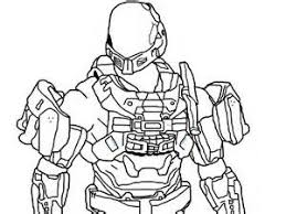 Small Picture Halo Noble 5 Free Coloring Pages