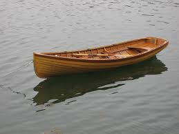 rowing boat built from wood in the traditional way and isn t