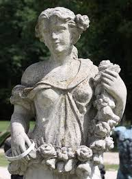 garden statues angel sculpture stone
