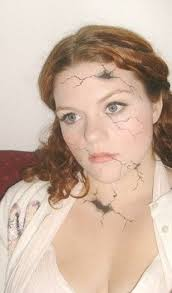 ed porcelain doll makeup the first go around great for
