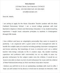 Cover Letter Education Teacher Best Solutions Of Special Education