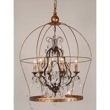 more views french birdcage chandelier