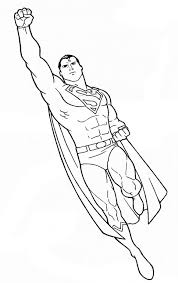 Small Picture superman to color copy and paste into a word doc Coloring Pages