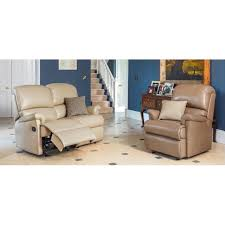 2 seater power recliner sofa leather