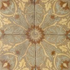 vine leaf patterson tile