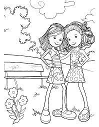 Groovy Girls Vind En Print Bliksemsnel Een Kleurplaat Ukkonl