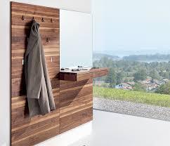 wall panel with coat rack