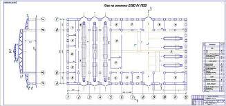 Диплом Проект реконструкции зоны ТО автомобилей АТП  Планировка производственного корпуса АТП 3