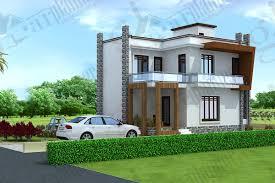 gphp 0016 area 2400 sq ft duplex house plans