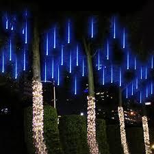 How To Plug In All Christmas Lights Us 5 53 24 Off 10 220v Waterproof Meteor Shower Rain Tubes Led Light Lamp Eu Plug Christmas Light Wedding Garden Decoration In Led Night Lights From