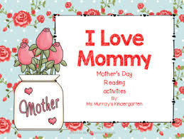 Mother Day Chart Mothers Day Shared Reading Poem And Mothers Day Tea Activities
