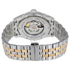 men s spirit of liberty two tone silver and rose gold tone men s spirit of liberty two tone silver and rose gold tone stainless ste silver dial hamilton shop by brand world of watches