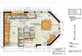 interior designers drawings. Mechanical Drawing, Or Floorplan, Of A Residential Kitchen. Interior Designers Drawings