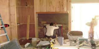 getting stoned tips for installing stone veneer for a stacked stone fireplace
