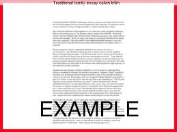 traditional family essay calvin trillin essay academic writing service traditional family essay calvin trillin calvin trillin has an admission he and his wife