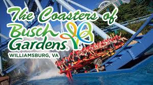 busch garden williamsburg va. Unique Williamsburg The Roller Coasters Of Busch Gardens Williamsburg In Garden Va V