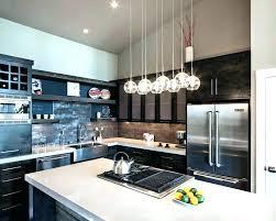 island chandelier crystal kitchen remodel pendant light fixtures with
