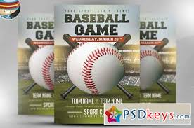 Free Baseball Flyer Template Baseball Flyer Template 2 583147 Free Download Photoshop
