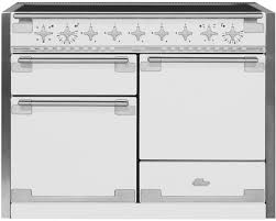 induction range double oven. Exellent Induction AGA AEL48INWHT 48 Inch Electric Induction Range With European Convection  MultiFunction Oven GlideOut Broiler 60 Cu Ft Total Capacity 5  And Double Oven