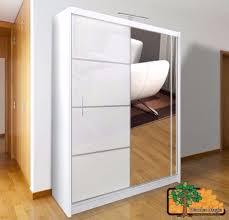 Free Standing Wardrobe Closet with Sliding Doors Quality Door Ideas ...
