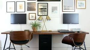 two desk home office. Glamorous Desk For Two People At 8 Best 2 Person Images On Desks Home Office  Decoration Ideas Wedding Two Desk Home Office