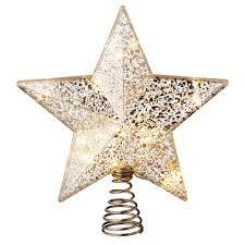 80s 90s Vintage Christmas Tree Topper Ornament Lighted Star Christmas Tree Lighted Star