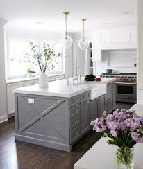 chelsea gray cabinets. Delighful Chelsea Kitchen Island Paint Color Is Chelsea Gray Benjamin Moore Via Park And Oak  Design Inside Cabinets E