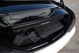 2012 Mercedes Benz SLK350, Interior, trunk space, Picture courtesy ...