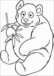 Small Picture Panda coloring page