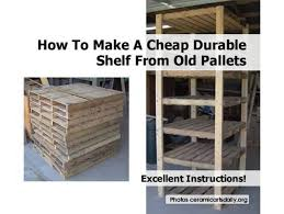 Shelves Made From Pallets Pallet Shelf1 1200x902jpg