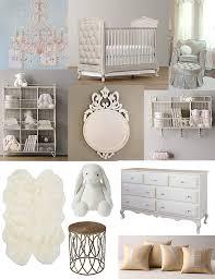 girly glam nursery