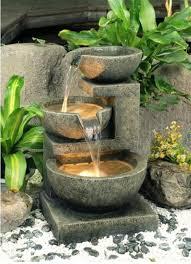 Brilliant Outdoor Fountain Designs Wonderful Garden Fountains