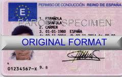 Spanish License Driving Driving Spanish Number